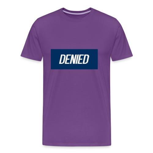 DENIED blauw - Men's Premium T-Shirt