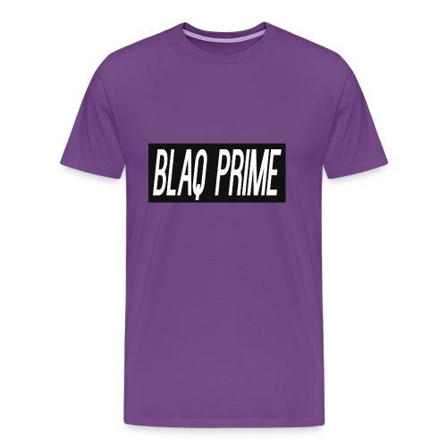 Blaq Prime Box Logo - Men's Premium T-Shirt