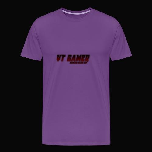 never give - Men's Premium T-Shirt