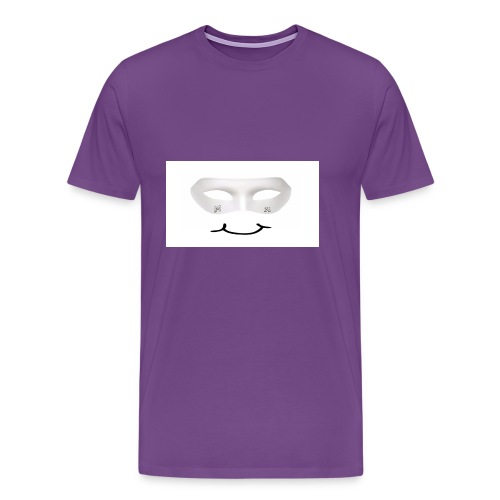 Mx Mask Smile (1) - Men's Premium T-Shirt