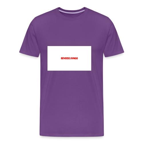 REVERSE KVNGG 1 - Men's Premium T-Shirt