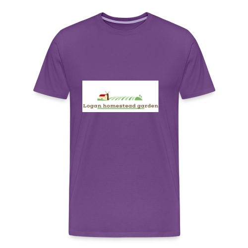 Homesteadlogo - Men's Premium T-Shirt