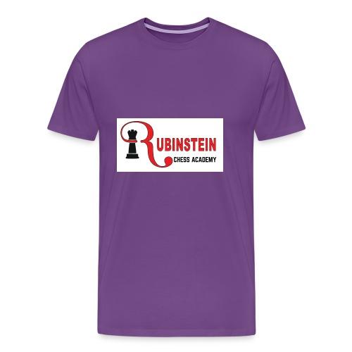 Rubinstein Chess Academy Logo - Men's Premium T-Shirt