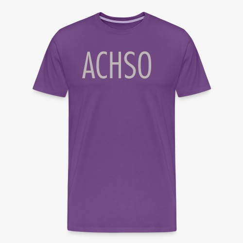 leipglo shop favorite german words series ACHSO - Men's Premium T-Shirt