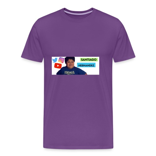 Santiago social media - Men's Premium T-Shirt