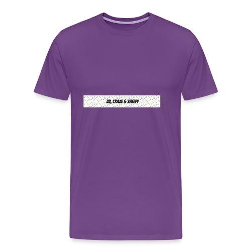 BB, Craze & Sheepy - Men's Premium T-Shirt