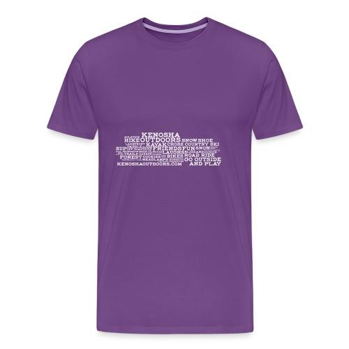 ko with address - Men's Premium T-Shirt
