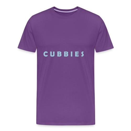 Cubbies Hat - Men's Premium T-Shirt