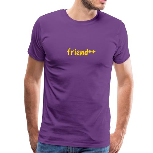 friend++ - Men's Premium T-Shirt