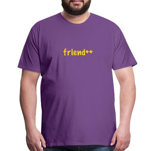 friend++ - Men's Premium T-Shirt