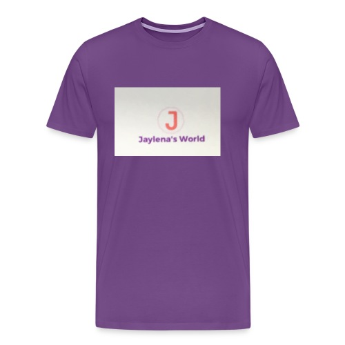 Jaylena's World logo - Men's Premium T-Shirt