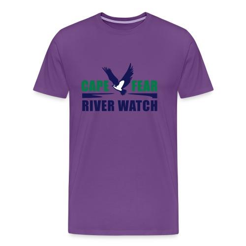 Cape Fear River Watch Logo - Men's Premium T-Shirt