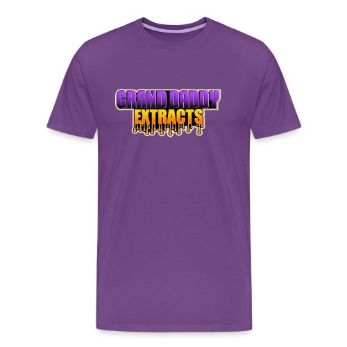 Grand Daddy Purp Extracts Logo - Men's Premium T-Shirt