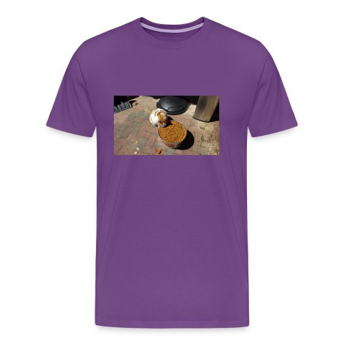 Hungry cat - Men's Premium T-Shirt