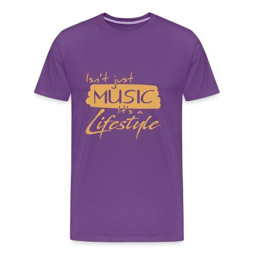 Musician Lifestyle - Men's Premium T-Shirt