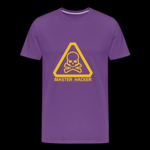 Master Hacker - Men's Premium T-Shirt