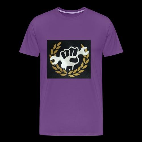 Shop crest - Men's Premium T-Shirt
