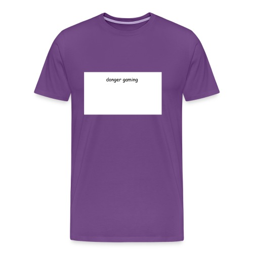 donger gaming - Men's Premium T-Shirt