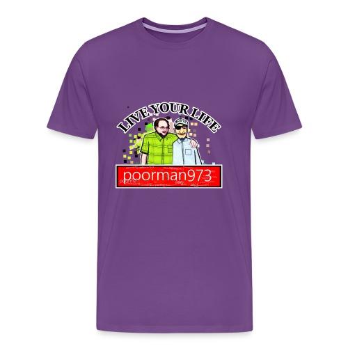 Don't let Depression Win, Live Your Life - Men's Premium T-Shirt