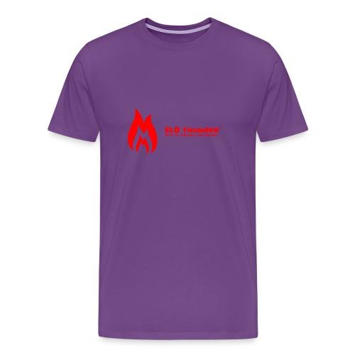 SLO thunder official logo - Men's Premium T-Shirt
