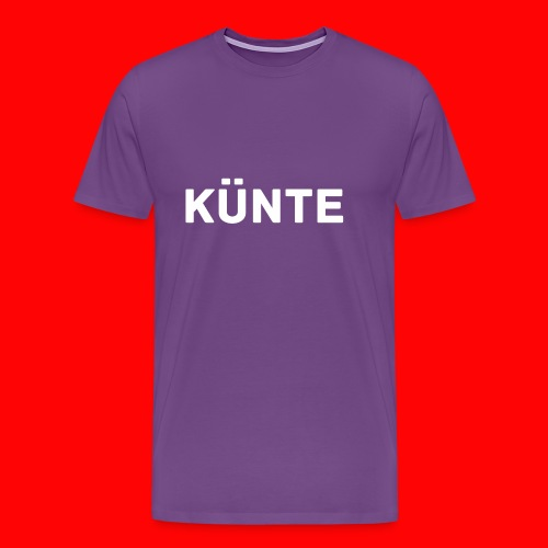künte side - Men's Premium T-Shirt