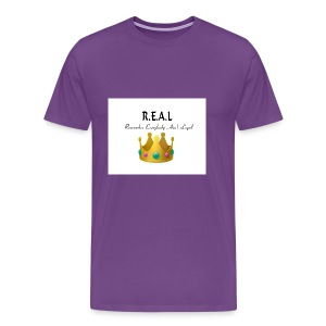 REALcrown - Men's Premium T-Shirt