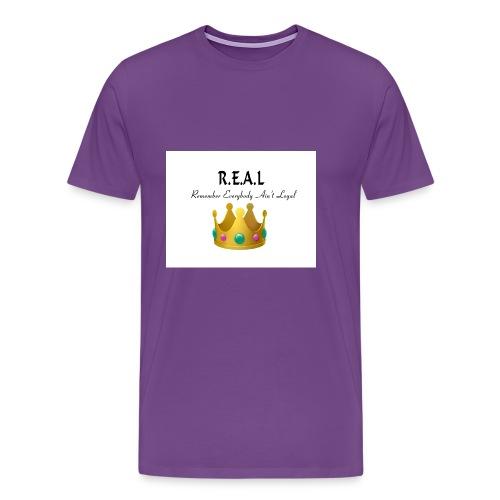 REALcrown - Men's Premium T-Shirt