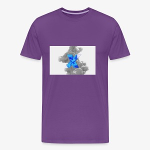 Grey smoke - Men's Premium T-Shirt