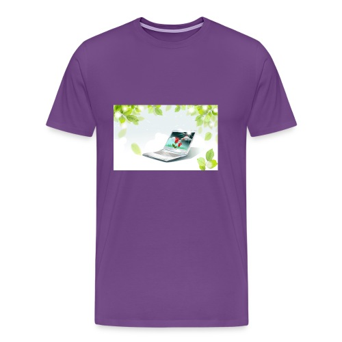 Digital World 63 - Men's Premium T-Shirt