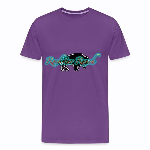 buffalo blacknturq - Men's Premium T-Shirt