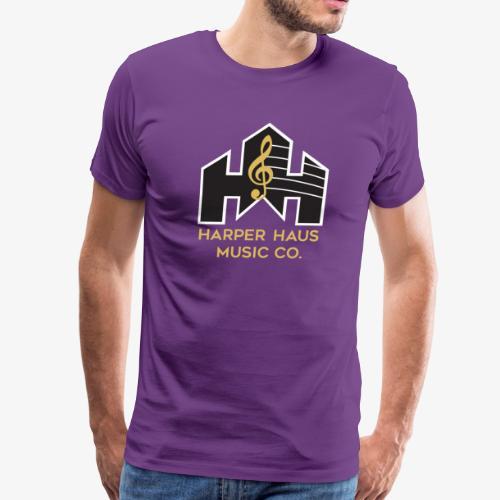 Harper Haus Music Company Full Color Logo - Men's Premium T-Shirt