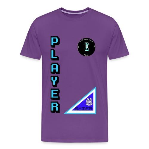 Guerrero Gamer, Warrior gamer - Men's Premium T-Shirt