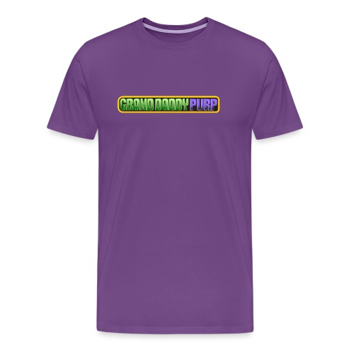 Grand Daddy Purp Logo - Men's Premium T-Shirt
