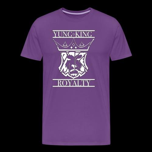 YK CREST WHITE - Men's Premium T-Shirt