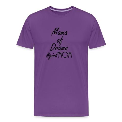 Girl mom black - Men's Premium T-Shirt