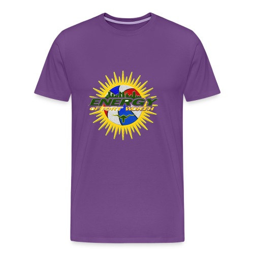 The Energy of Fort Worth Texas - Men's Premium T-Shirt