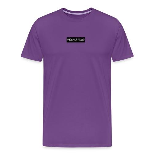 Wouk Squad LOGO - Men's Premium T-Shirt