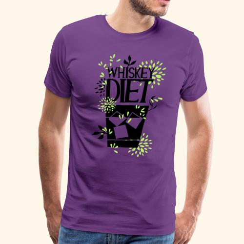 WHISKEY DIET T-SHIRT MEN / WOMEN - Men's Premium T-Shirt