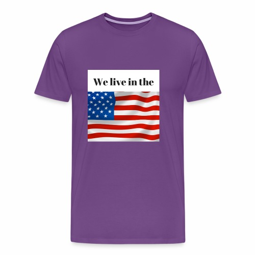 U.S.A. - Men's Premium T-Shirt