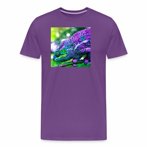 Camera Chameleon - Men's Premium T-Shirt