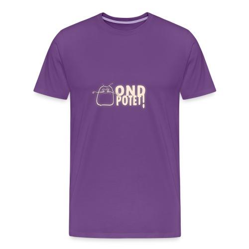 logo potet liggende - Men's Premium T-Shirt