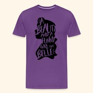 Funny girl - Men's Premium T-Shirt