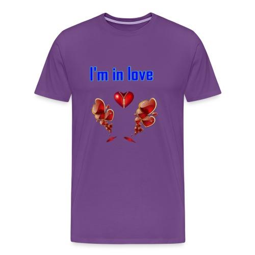 I'm in love - Men's Premium T-Shirt