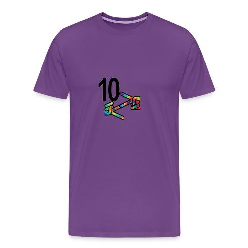 10z Tie Die - Men's Premium T-Shirt