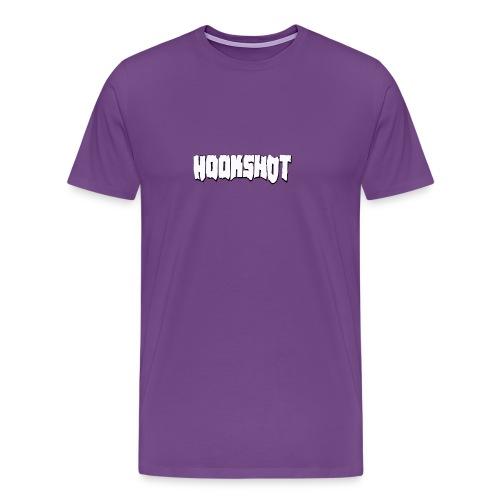 HookShotLogoWhite - Men's Premium T-Shirt