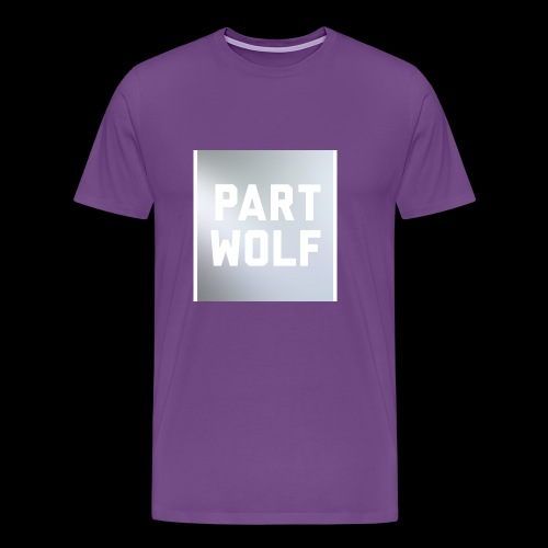 Part Wolf - Men's Premium T-Shirt