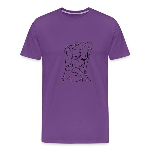 Esquisse - Men's Premium T-Shirt