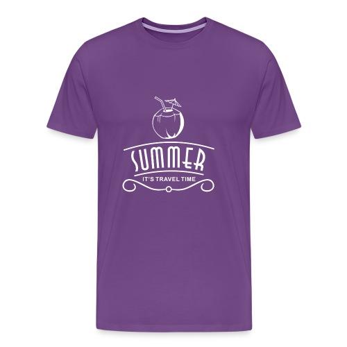 Summer Travel Time - Men's Premium T-Shirt