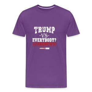 LP Trump VS Everybody 2.0 - Men's Premium T-Shirt