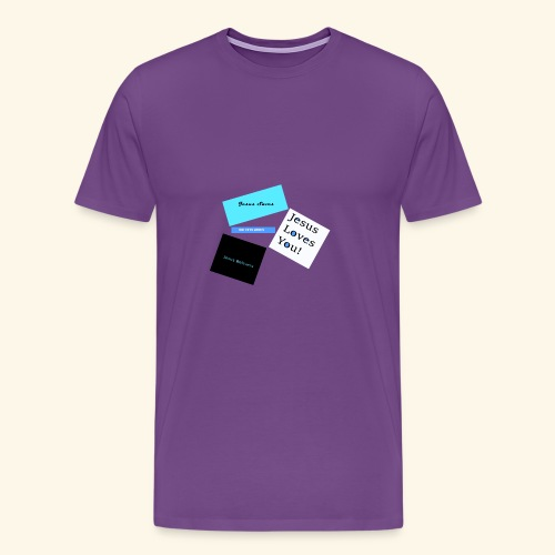 Jesus delivers - Men's Premium T-Shirt